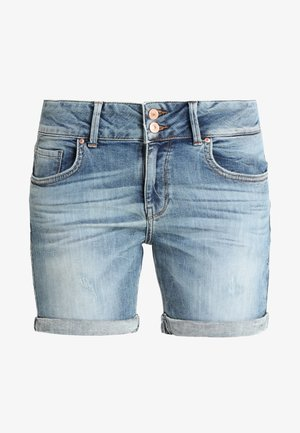 BECKY - Jeansshort - lewa wash