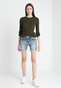 LTB - BECKY - Jeansshort - lewa wash - 1