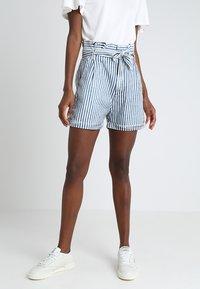 LTB - DORLA - Shorts - blue/white - 0