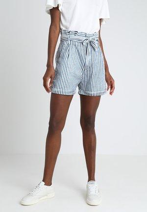 DORLA - Shorts - blue/white