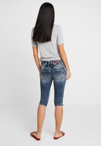 LTB - GEORGET CYCLE - Shorts di jeans - blue denim - 2