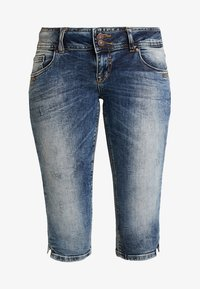 LTB - GEORGET CYCLE - Shorts di jeans - blue denim - 4
