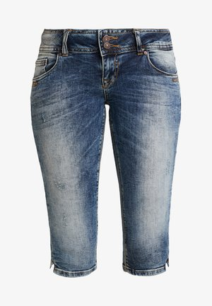 GEORGET CYCLE - Jeansshorts - blue denim