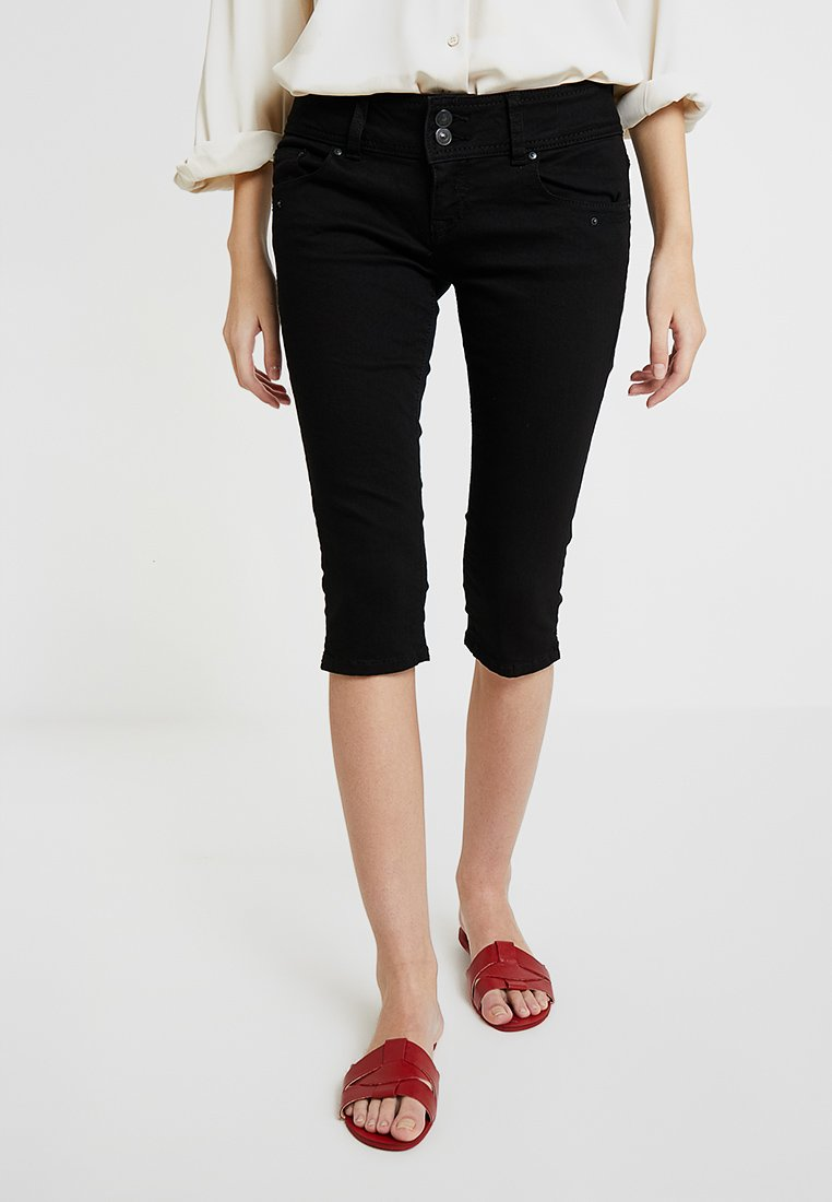 LTB - GEORGET CYCLE - Shorts di jeans - black to black