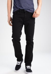 LTB - HOLLYWOOD - Džíny Straight Fit - black - 0