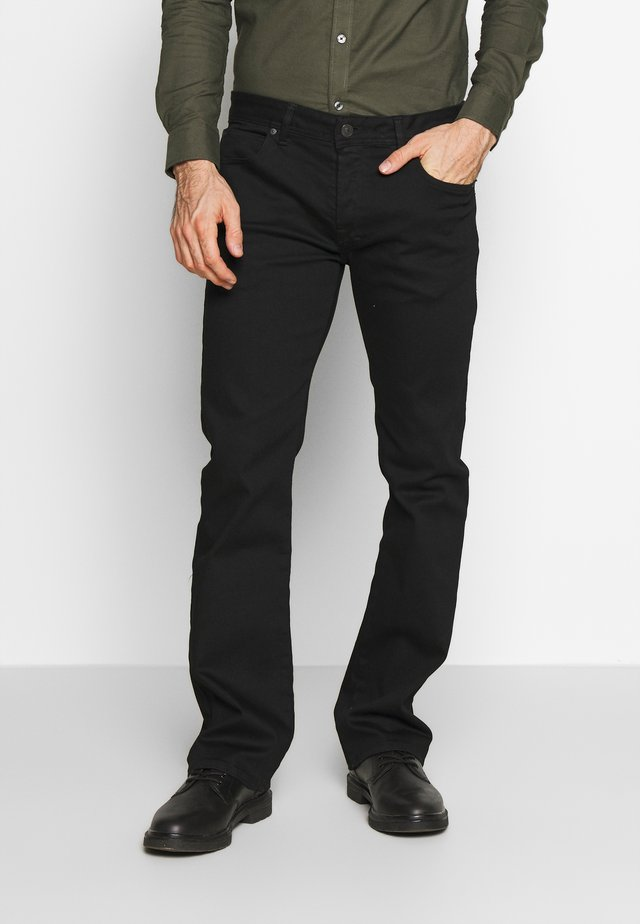 RODEN - Jeansy Bootcut - black