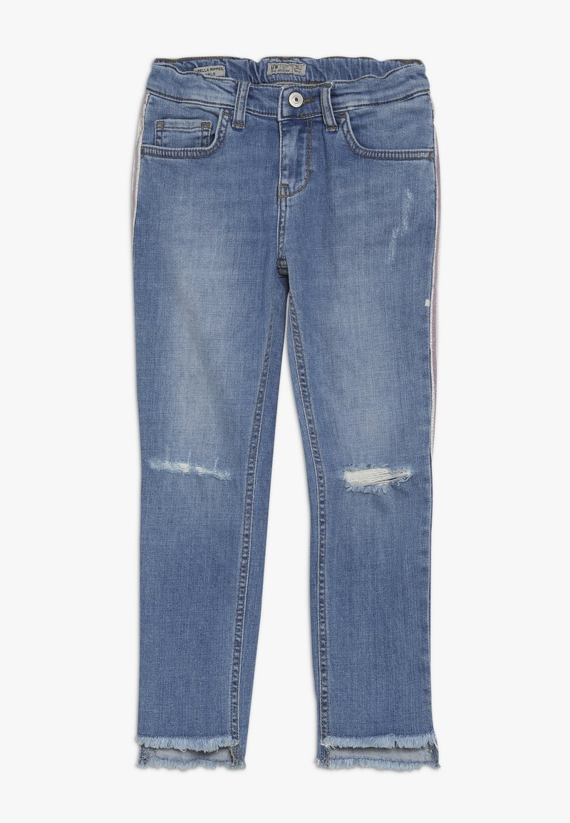 LTB - ISABELLA RIPPED - Slim fit jeans - silvery wash