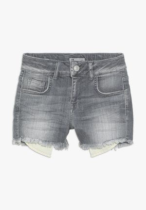 PAMELA - Denim shorts - luce wash