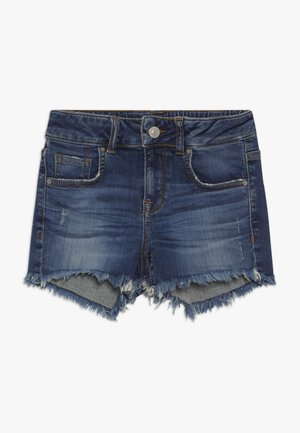 PAMELA - Short en jean - loril wash
