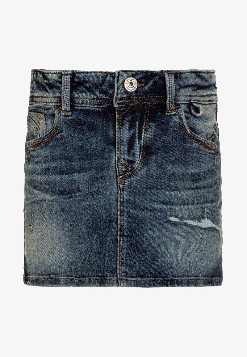 LTB - ADREA  - Jeansnederdel/ cowboy nederdele - edina wash
