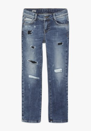 NEW COOPER - Slim fit jeans - cleon wash