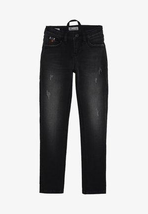 CAYLE - Jeans Skinny Fit - blackleaf wash