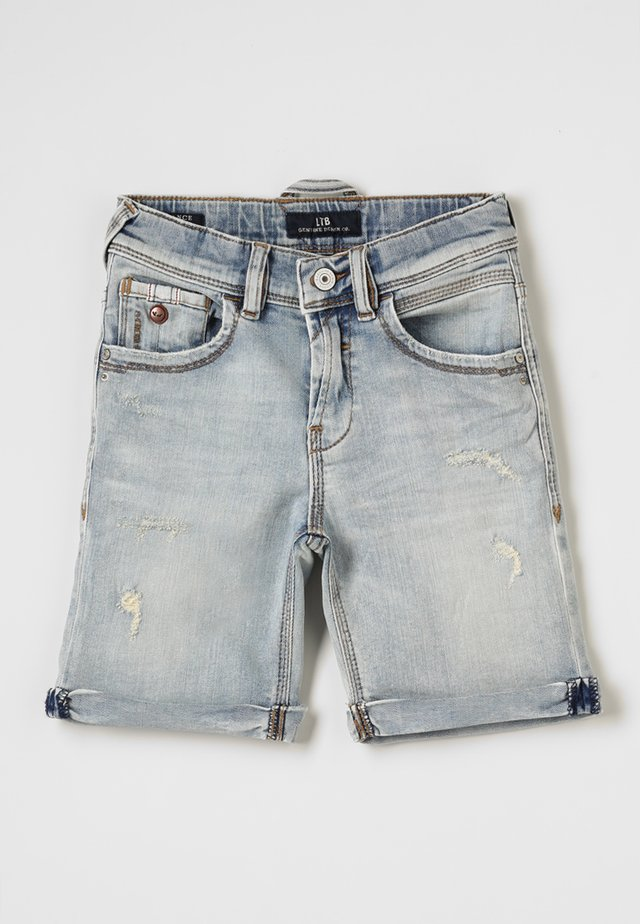 LANCE  - Shorts di jeans - leroy wash