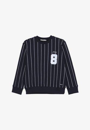 NODAJI - Sweatshirt - navy/off white