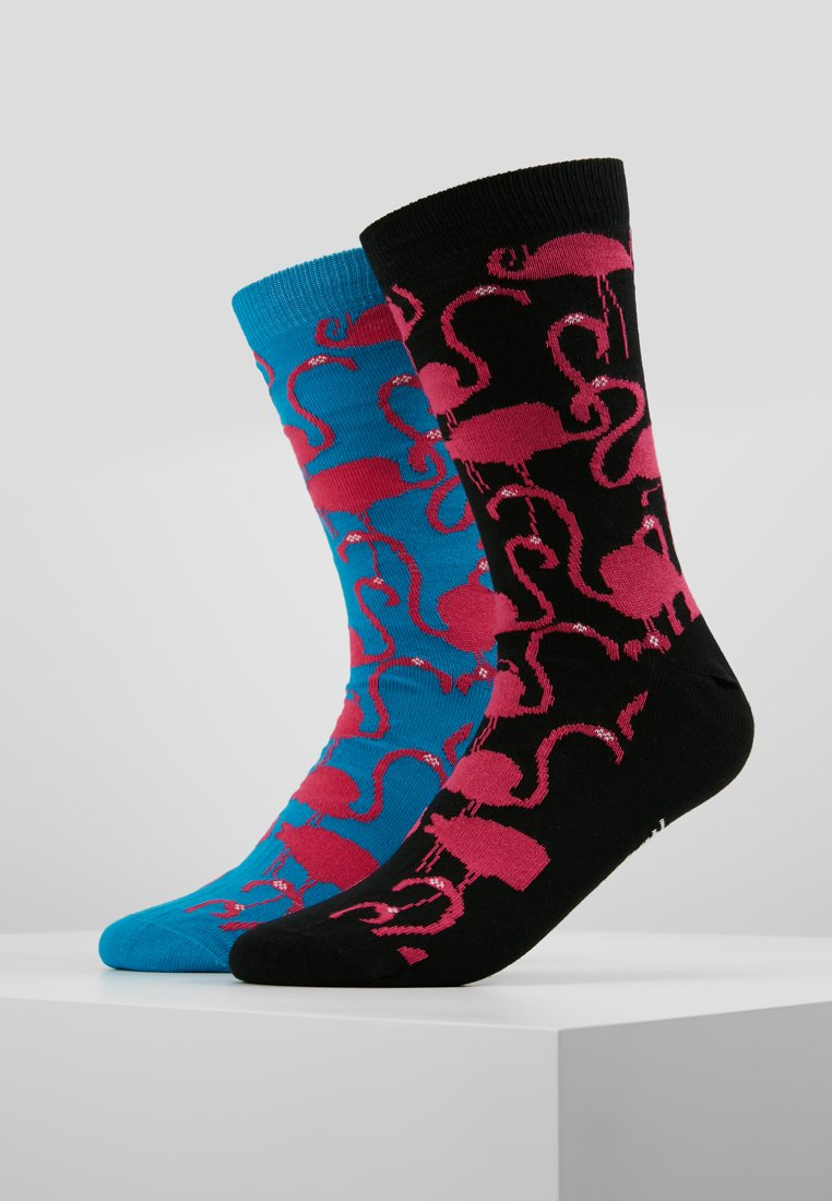 Lousy Livin Underwear - FLAMINGOS 2 PACK - Socks - turquoise/black