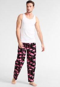 Lousy Livin Underwear - FLAMINGO - Bas de pyjama - black - 1