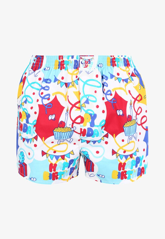 HAPPY - Boxershorts - white