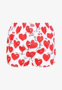 Lousy Livin Underwear - VALENTINES - Boksershorts - white - 4