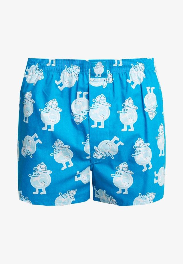 Boxershorts - agua blue