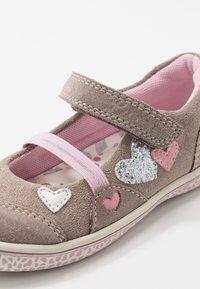 Lurchi - TAEKO - Ankle strap ballet pumps - taupe - 5