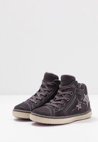 Lurchi - Sneakersy wysokie - charcoal - 2
