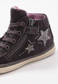 Lurchi - Sneakersy wysokie - charcoal - 5