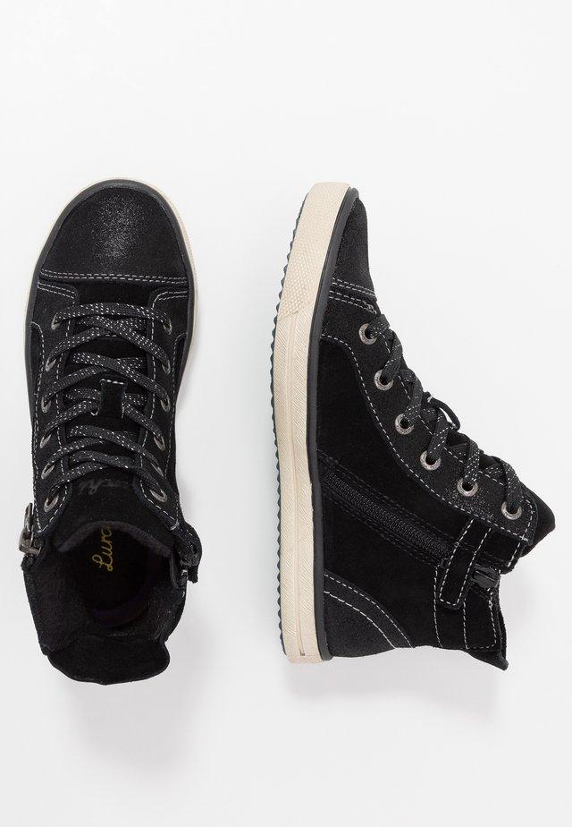 SASSI-TEX - High-top trainers - black