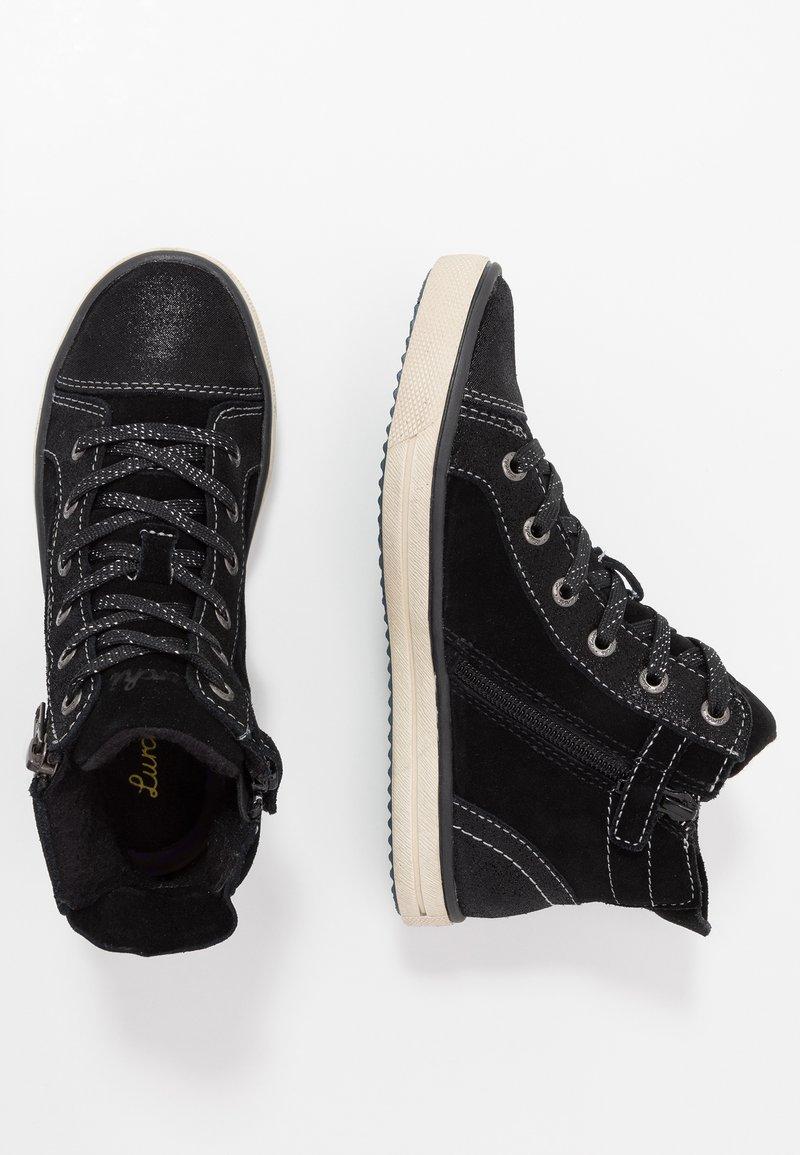 Lurchi - SASSI-TEX - High-top trainers - black