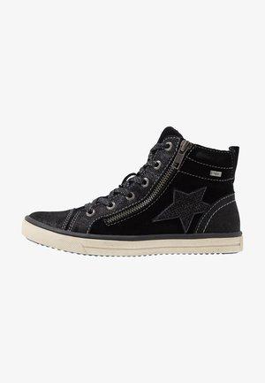 SASSI-TEX - Zapatillas altas - black