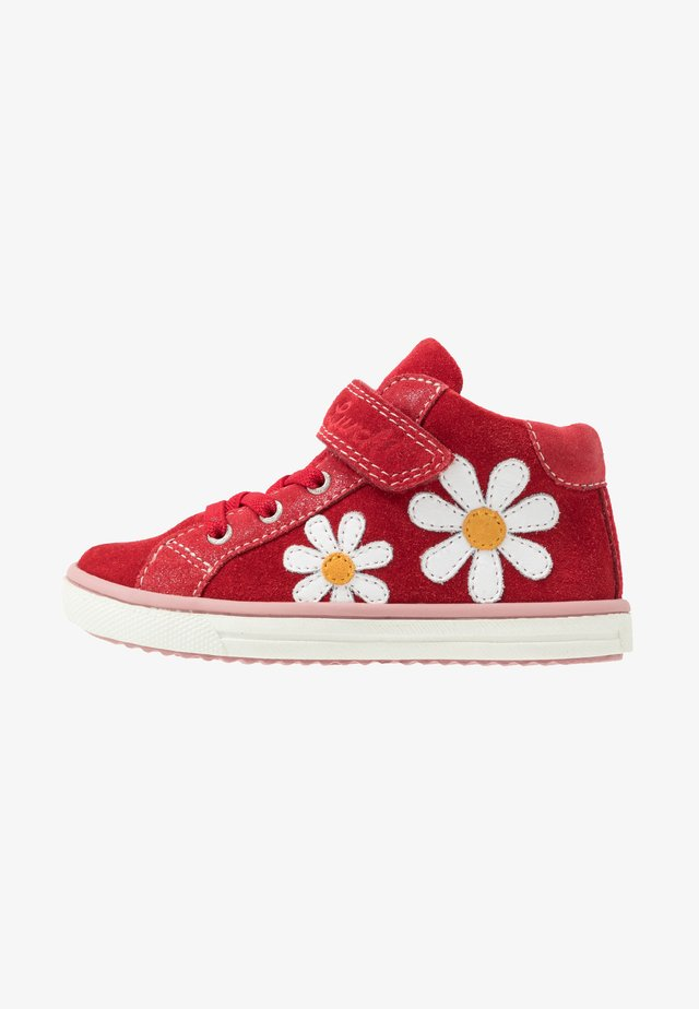 SIBBI - Höga sneakers - red