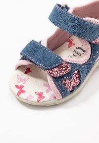 Lurchi - MARZIA - Sandalias - jeans/rose - 5