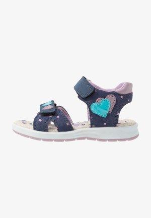 DELIA - Walking sandals - navy