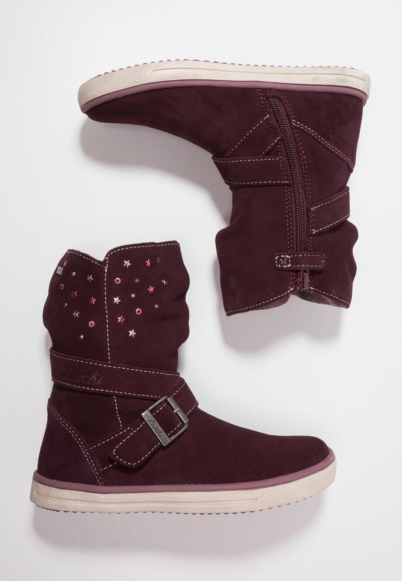 Lurchi - CINA TEX - Korte laarzen - burgundy