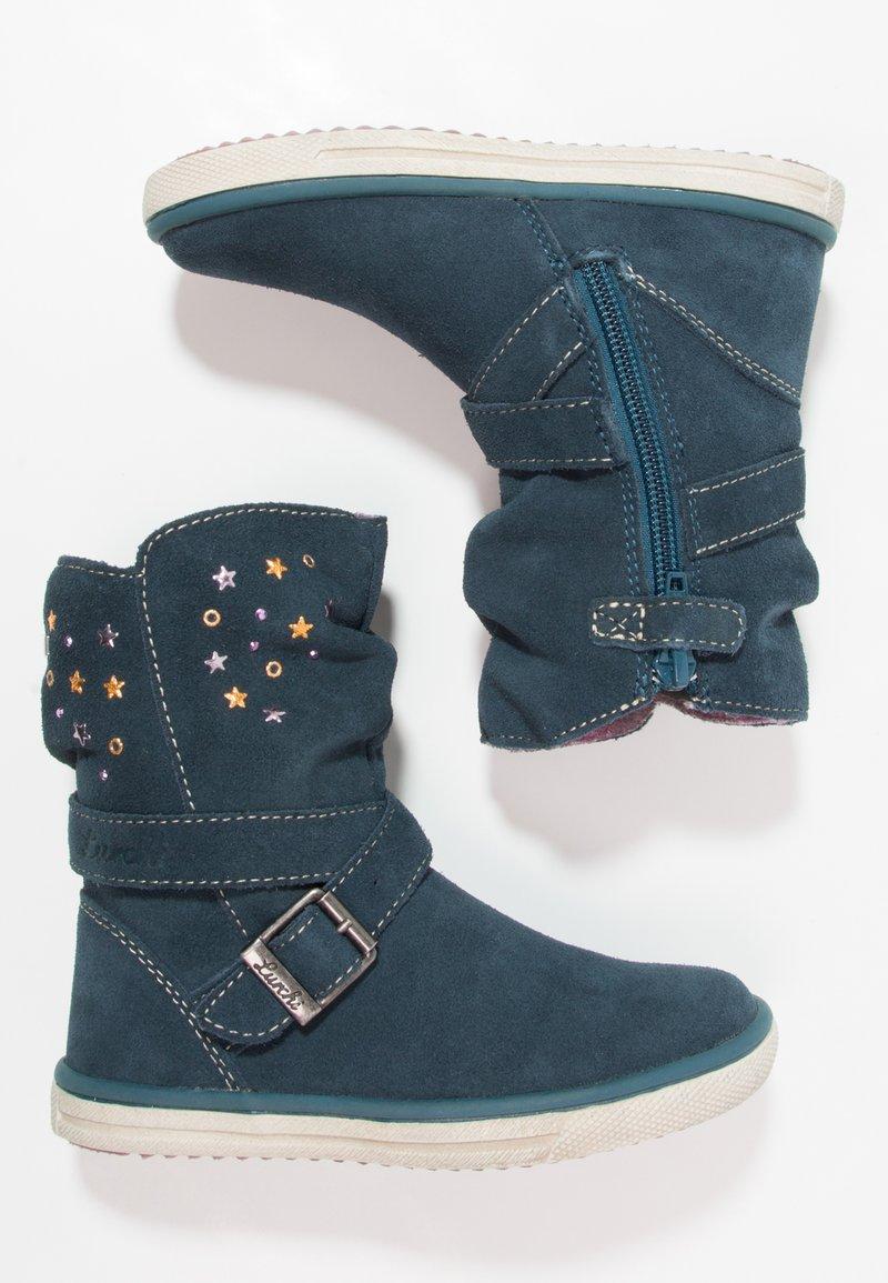 Lurchi - CINA TEX - Classic ankle boots - dark petrol