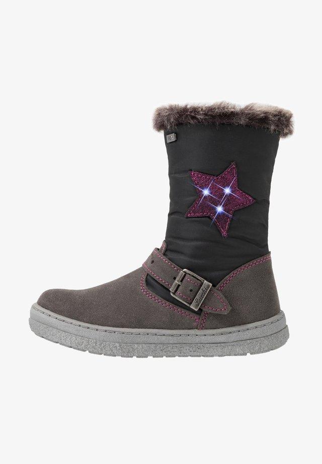 ANIKA-TEX - Vysoká obuv - grey