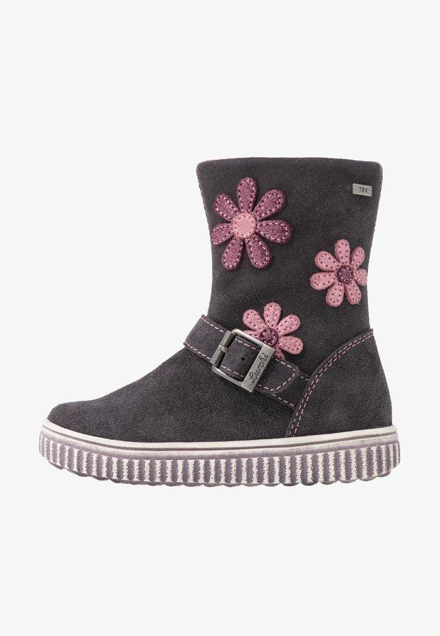 YOLA-TEX - Vysoká obuv - charcoal