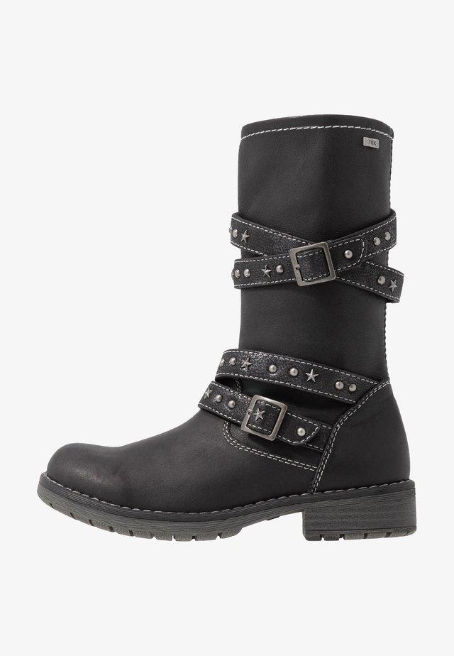 LARU-TEX - Cowboy/Biker boots - black