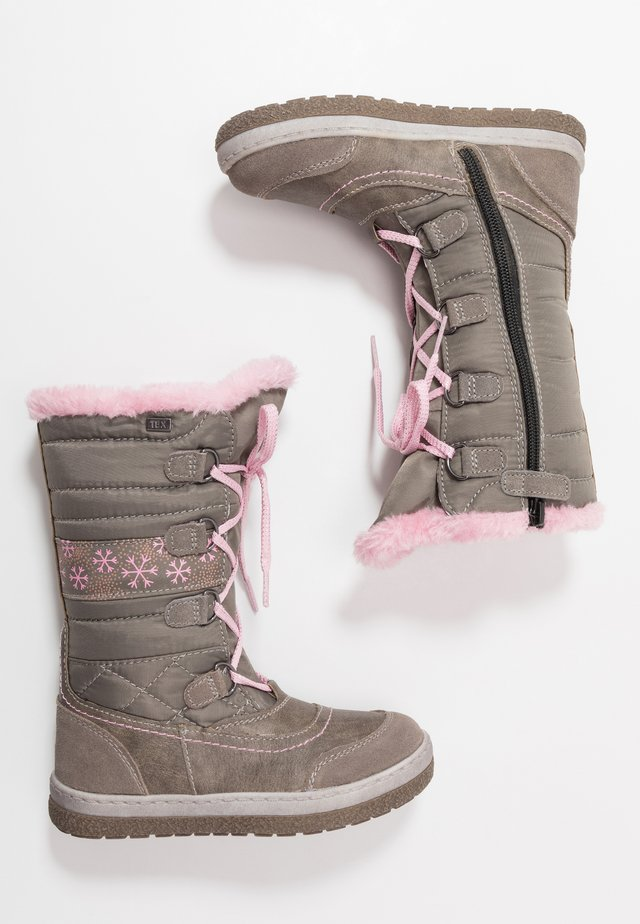 ALPY TEX - Snowboot/Winterstiefel - miste rose
