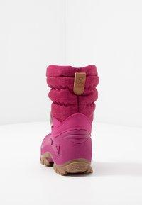 Lurchi - FINN - Botas para la nieve - burgundy - 4