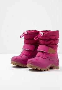 Lurchi - FINN - Botas para la nieve - burgundy - 3