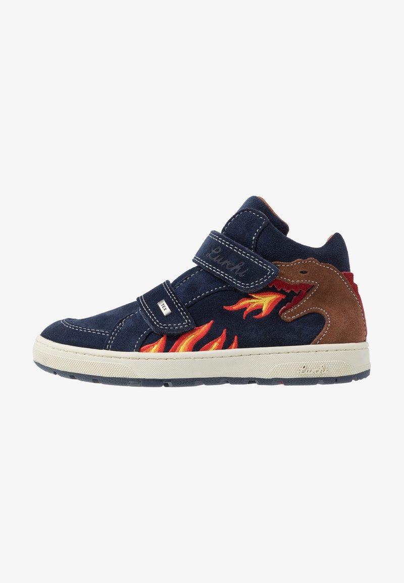 Lurchi - DINO TEX - Zapatillas altas - navy