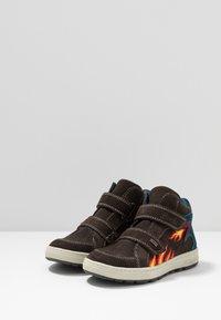 Lurchi - DINO TEX - Baskets montantes - dark brown - 2