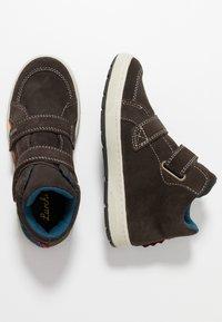 Lurchi - DINO TEX - Baskets montantes - dark brown - 1