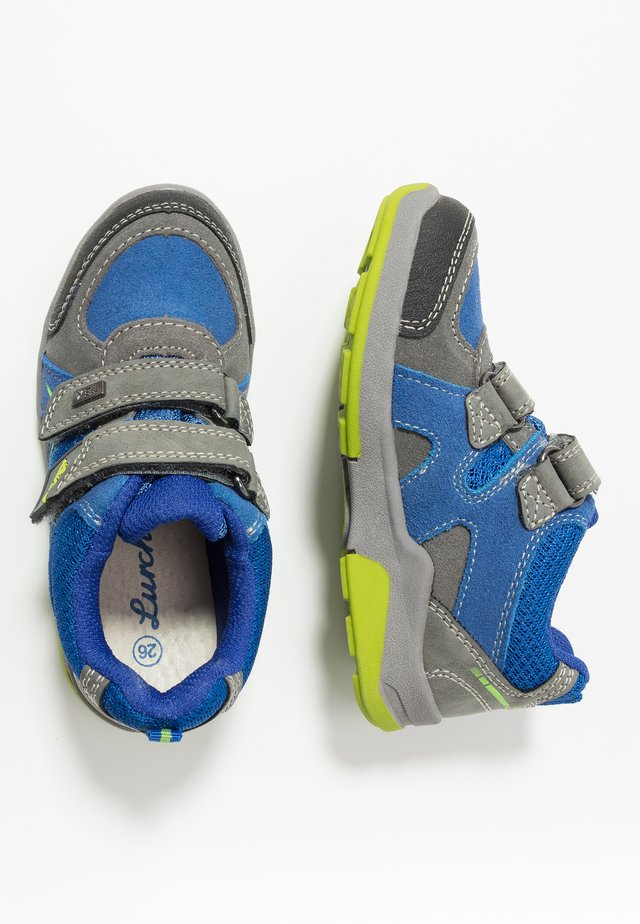MATTHIAS TEX - Trainers - cobalt/ grey