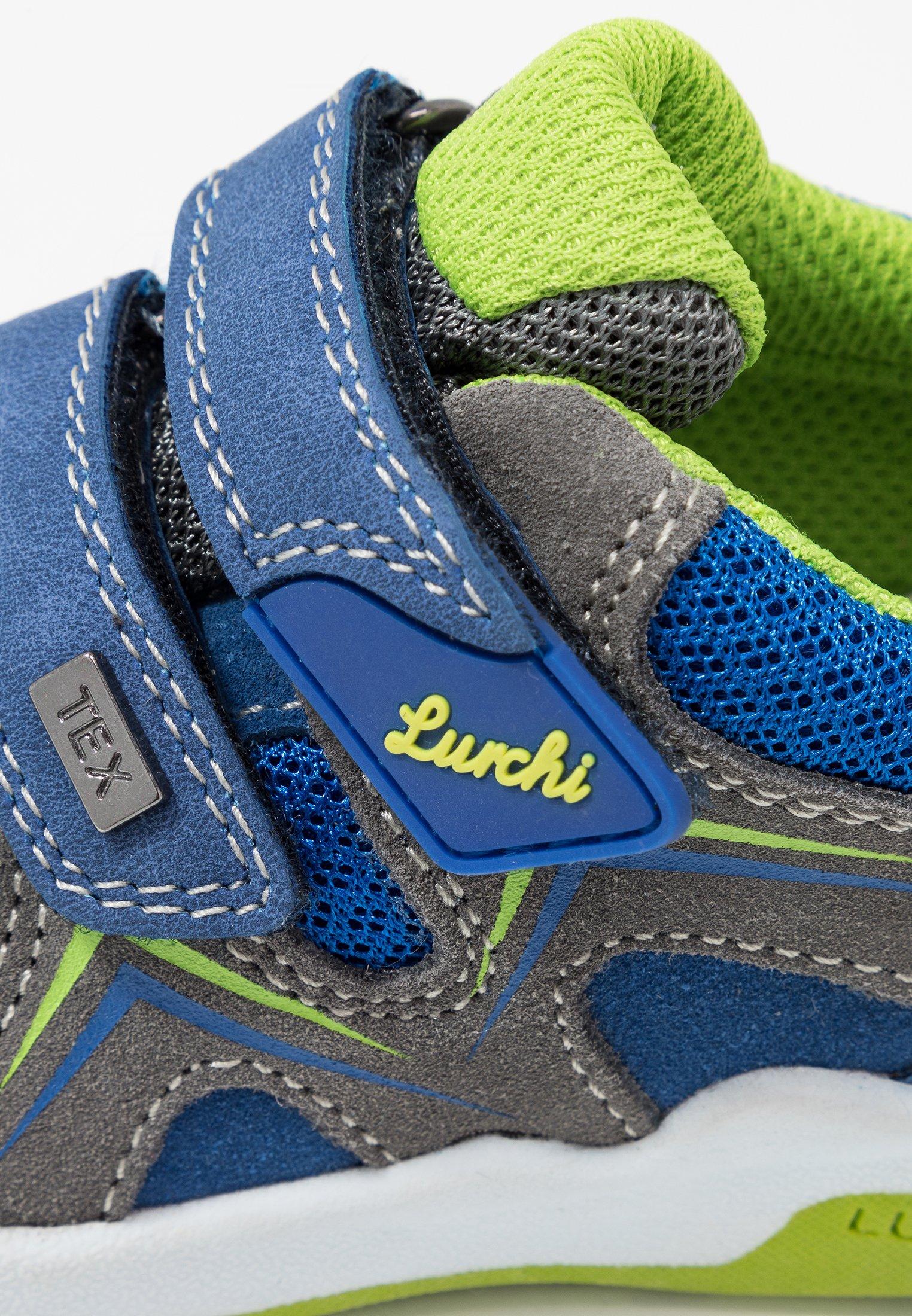 Lurchi MATTHIAS-TEX - Sko med burretape - cobalt