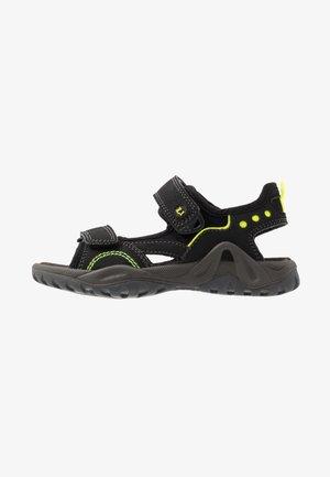 MANNI - Walking sandals - black