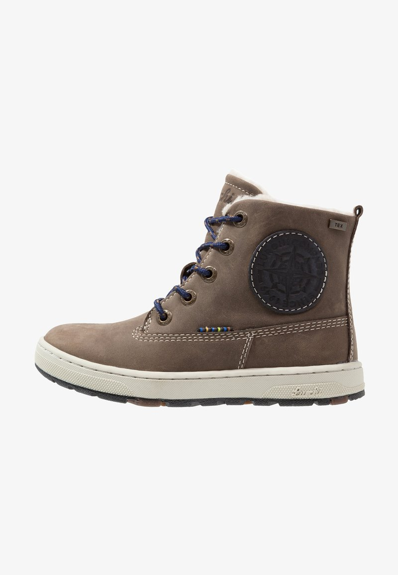Lurchi - DOUG-TEX - Lace-up ankle boots - fossil atlantic