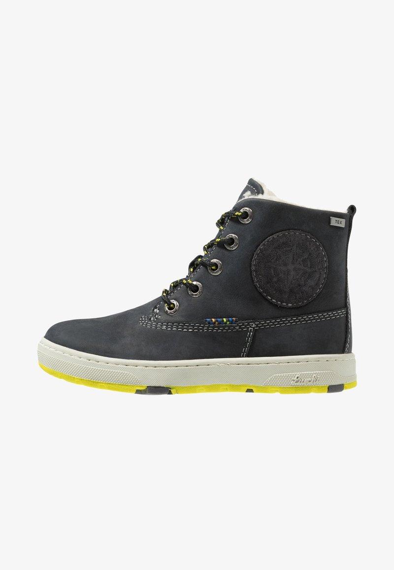 Lurchi - DOUG-TEX - Botines con cordones - black