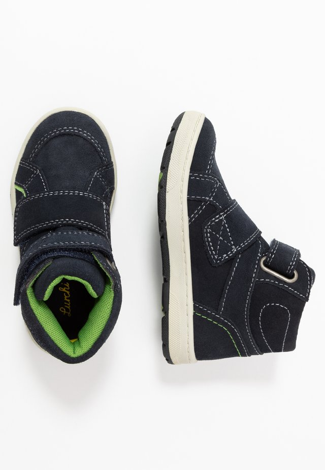 DILO-TEX - High-top trainers - navy