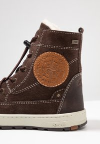 Lurchi - DEWIE-TEX - Lace-up ankle boots - brown - 5